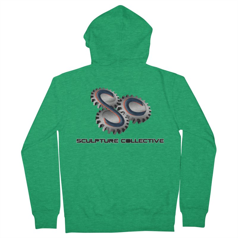 Sculpture Collective by ChupaCabrales Men's French Terry Zip-Up Hoody by ChupaCabrales's Shop