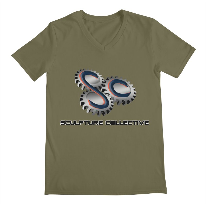 Sculpture Collective by ChupaCabrales Men's V-Neck by ChupaCabrales's Shop