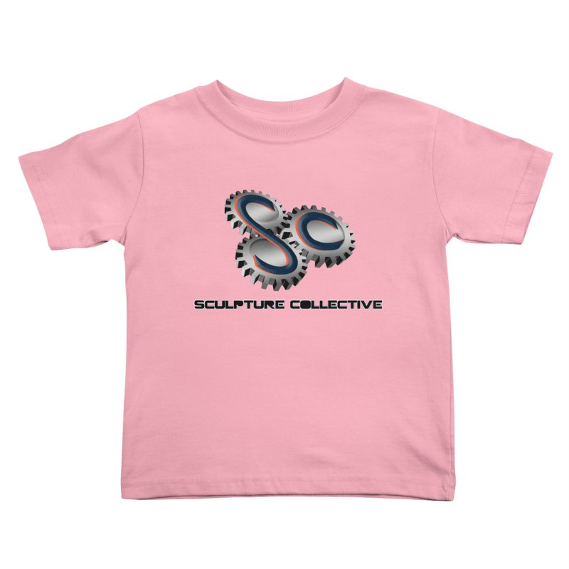 Sculpture Collective by ChupaCabrales Kids Toddler T-Shirt by ChupaCabrales's Shop