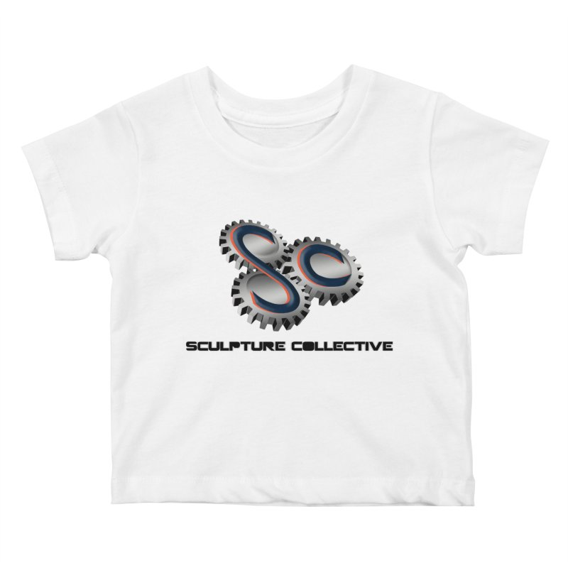 Sculpture Collective by ChupaCabrales Kids Baby T-Shirt by ChupaCabrales's Shop