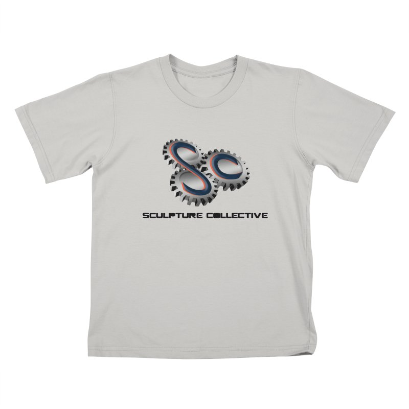 Sculpture Collective by ChupaCabrales Kids T-Shirt by ChupaCabrales's Shop