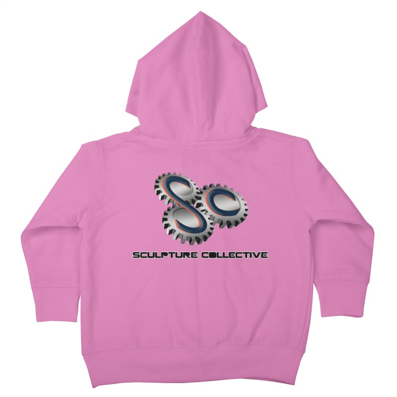 Sculpture Collective by ChupaCabrales Kids Toddler Zip-Up Hoody by ChupaCabrales's Shop