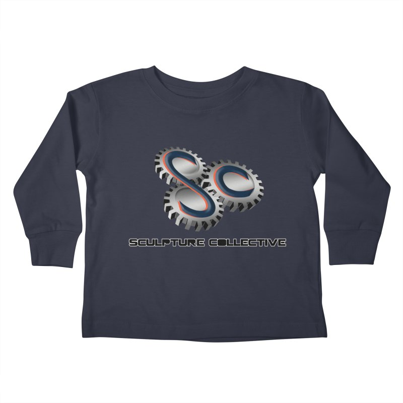 Sculpture Collective by ChupaCabrales Kids Toddler Longsleeve T-Shirt by ChupaCabrales's Shop