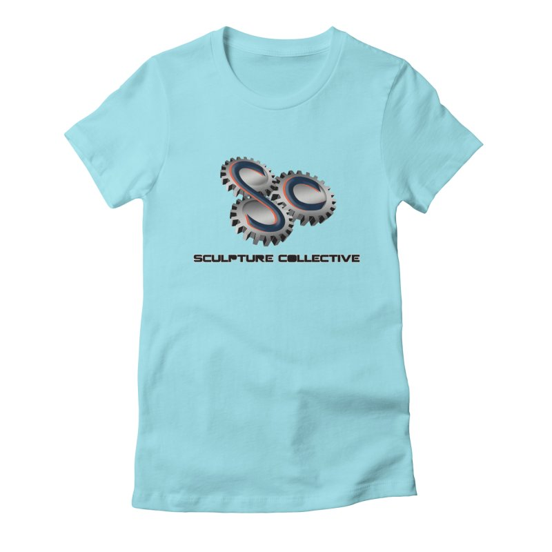 Sculpture Collective by ChupaCabrales Women's Fitted T-Shirt by ChupaCabrales's Shop