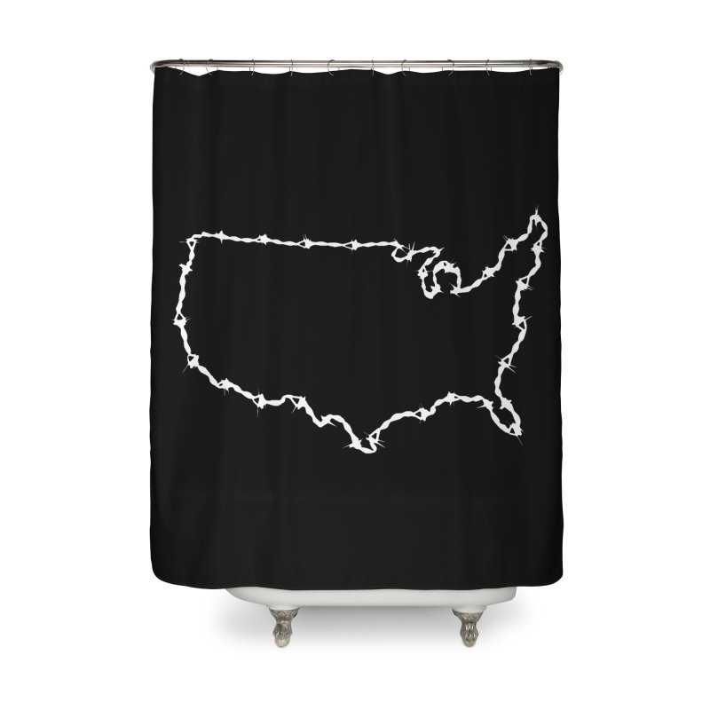 The New Colossus (Give me your tired, your poor..) by ChupaCabrales Home Shower Curtain by ChupaCabrales's Shop