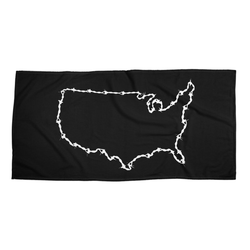 The New Colossus (Give me your tired, your poor..) by ChupaCabrales Accessories Beach Towel by ChupaCabrales's Shop