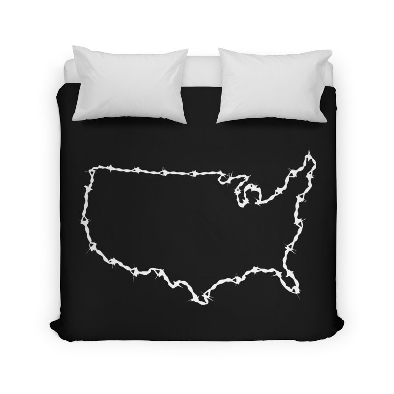 The New Colossus (Give me your tired, your poor..) by ChupaCabrales Home Duvet by ChupaCabrales's Shop