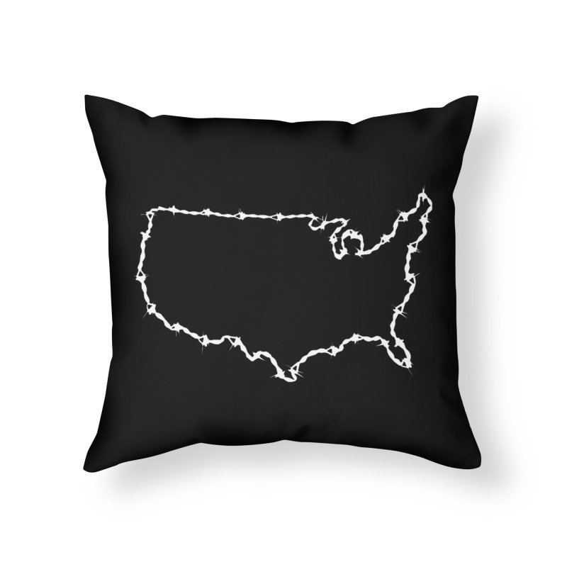 The New Colossus (Give me your tired, your poor..) by ChupaCabrales Home Throw Pillow by ChupaCabrales's Shop