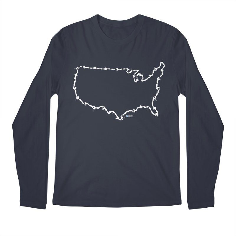 The New Colossus (Give me your tired, your poor..) by ChupaCabrales Men's Regular Longsleeve T-Shirt by ChupaCabrales's Shop