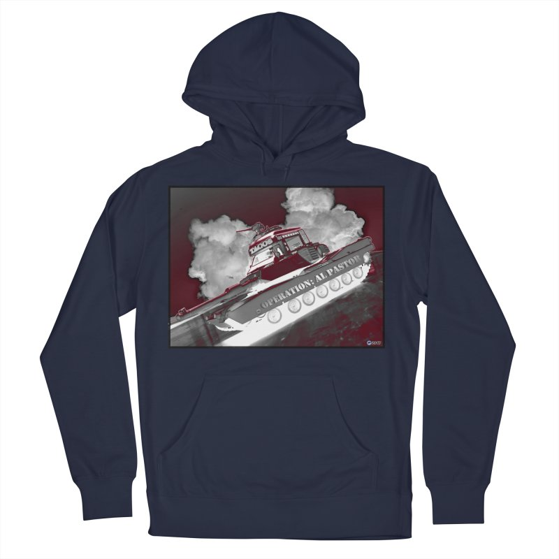 Operation: Al Pastor by ChupaCabrales Men's French Terry Pullover Hoody by ChupaCabrales's Shop
