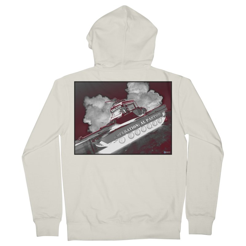 Operation: Al Pastor by ChupaCabrales Men's French Terry Zip-Up Hoody by ChupaCabrales's Shop