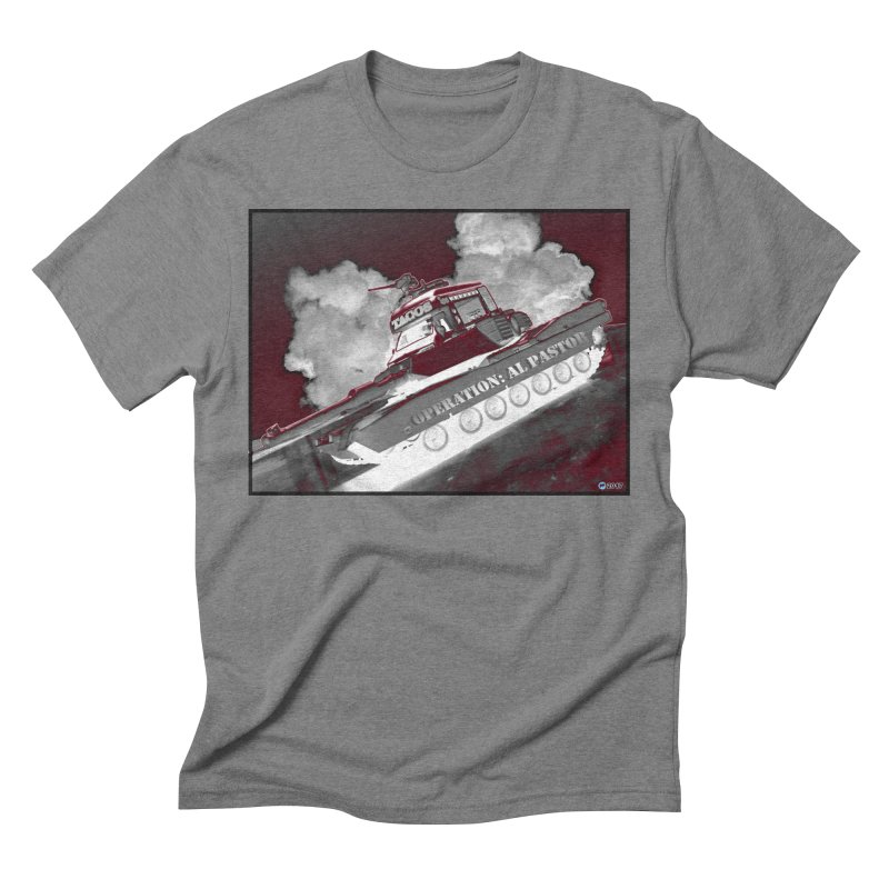 Operation: Al Pastor by ChupaCabrales Men's Triblend T-Shirt by ChupaCabrales's Shop