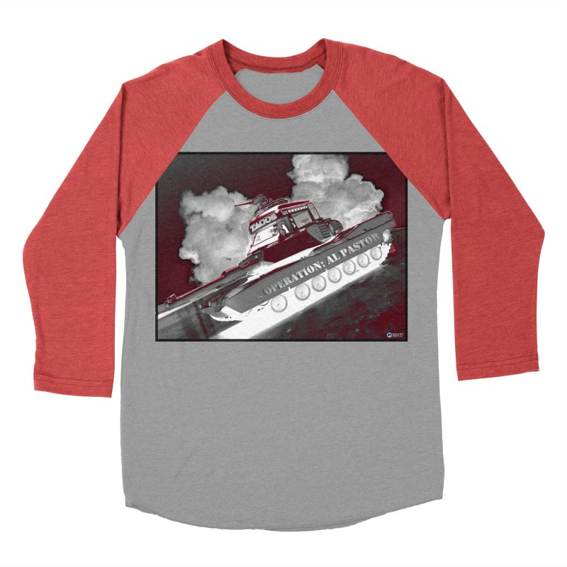 Operation: Al Pastor by ChupaCabrales Women's Baseball Triblend Longsleeve T-Shirt by ChupaCabrales's Shop