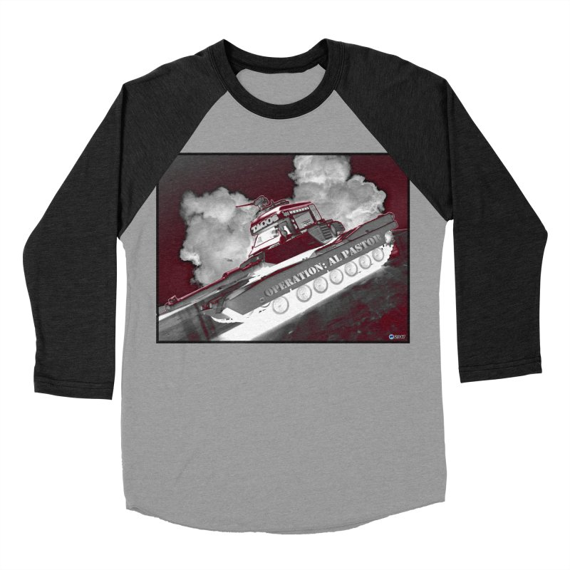 Operation: Al Pastor by ChupaCabrales Men's Baseball Triblend Longsleeve T-Shirt by ChupaCabrales's Shop