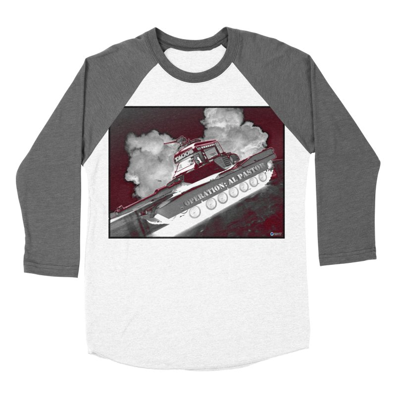 Operation: Al Pastor by ChupaCabrales Men's Baseball Triblend T-Shirt by ChupaCabrales's Shop
