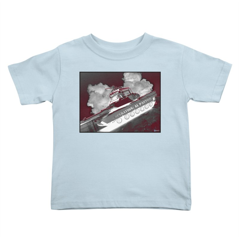 Operation: Al Pastor by ChupaCabrales Kids Toddler T-Shirt by ChupaCabrales's Shop
