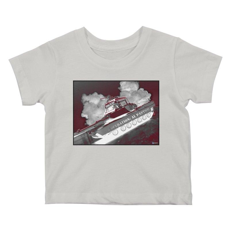 Operation: Al Pastor by ChupaCabrales Kids Baby T-Shirt by ChupaCabrales's Shop