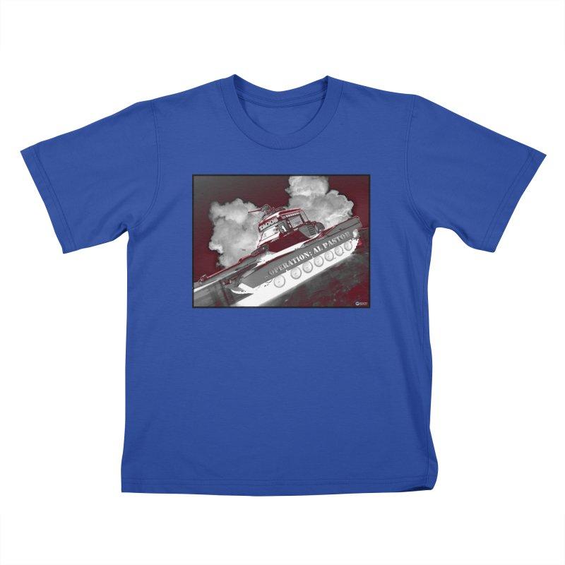 Operation: Al Pastor by ChupaCabrales Kids T-Shirt by ChupaCabrales's Shop