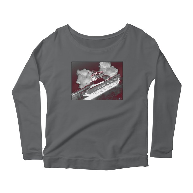 Operation: Al Pastor by ChupaCabrales Women's Scoop Neck Longsleeve T-Shirt by ChupaCabrales's Shop