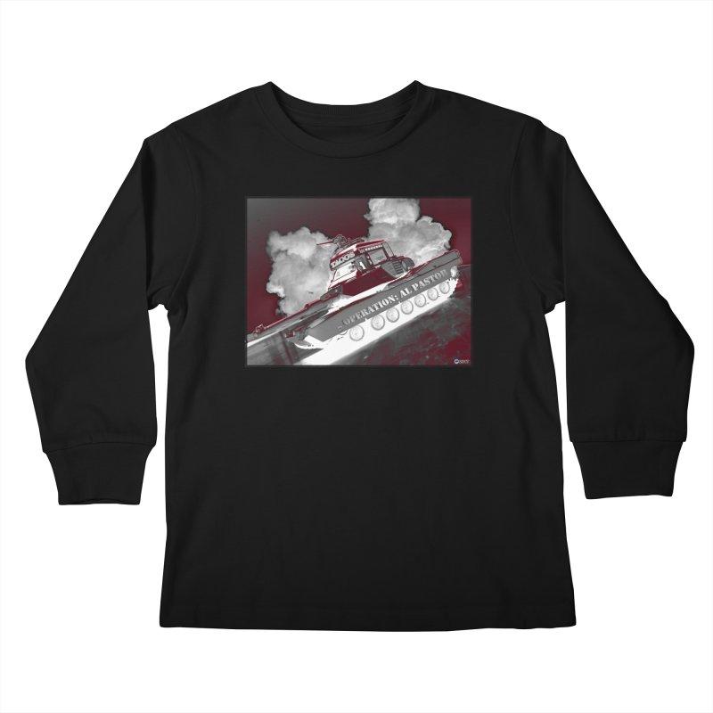 Operation: Al Pastor by ChupaCabrales Kids Longsleeve T-Shirt by ChupaCabrales's Shop