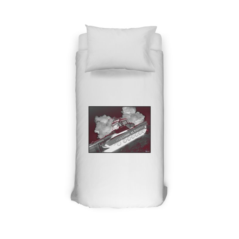 Operation: Al Pastor by ChupaCabrales Home Duvet by ChupaCabrales's Shop