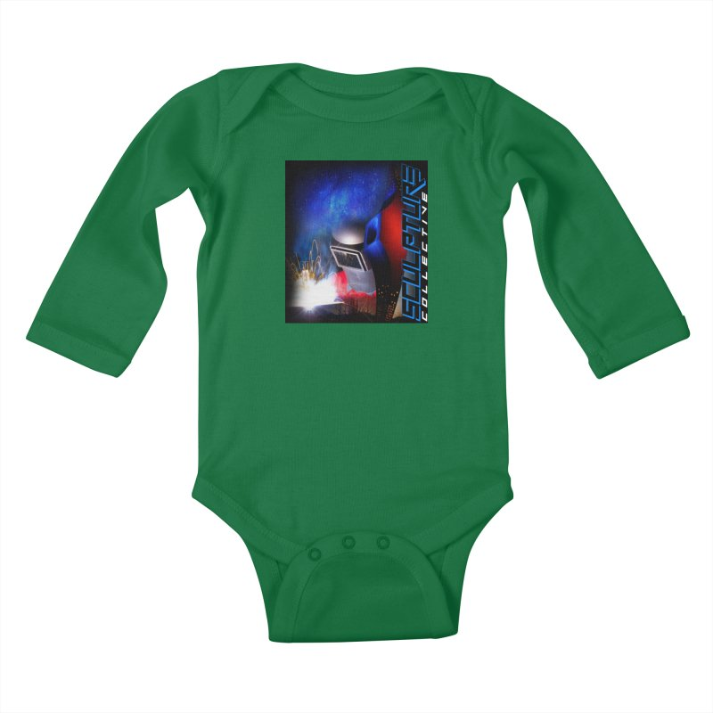 Sculpture Collective Design by C. Gutierrez Kids Baby Longsleeve Bodysuit by ChupaCabrales's Shop