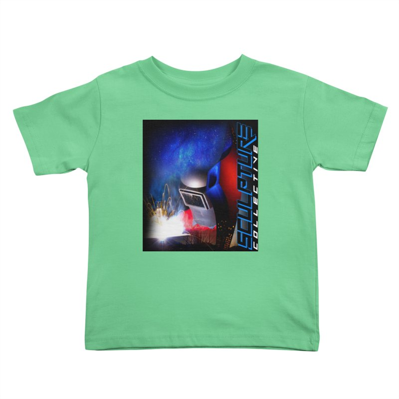 Sculpture Collective Design by C. Gutierrez Kids Toddler T-Shirt by ChupaCabrales's Shop