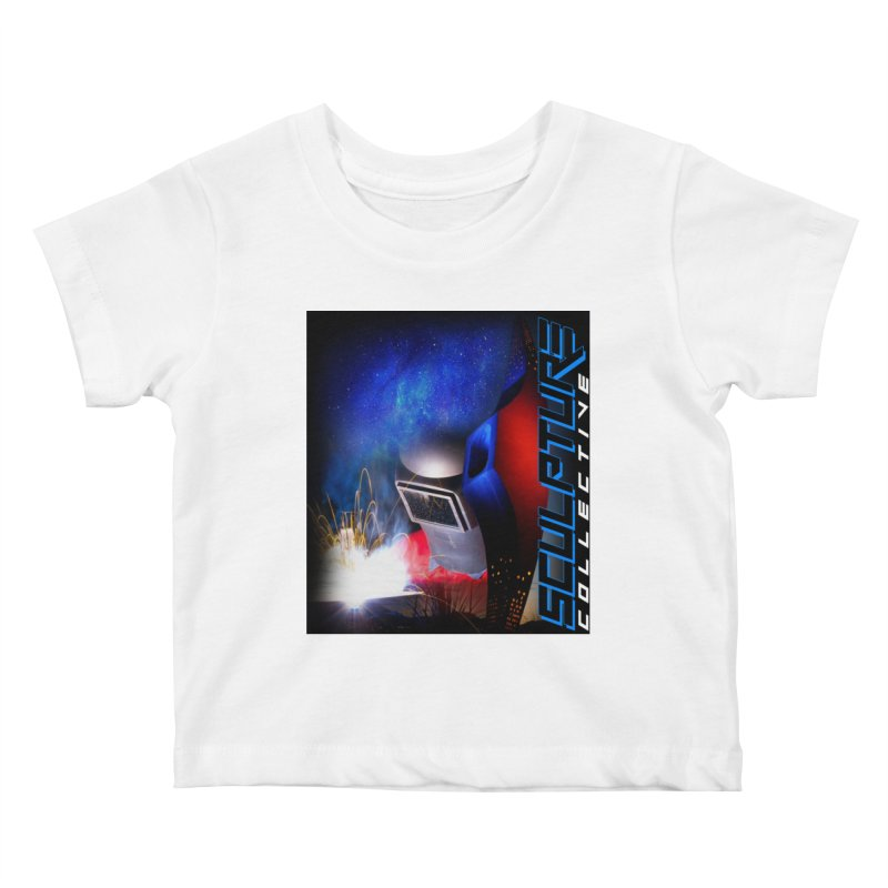 Sculpture Collective Design by C. Gutierrez Kids Baby T-Shirt by ChupaCabrales's Shop