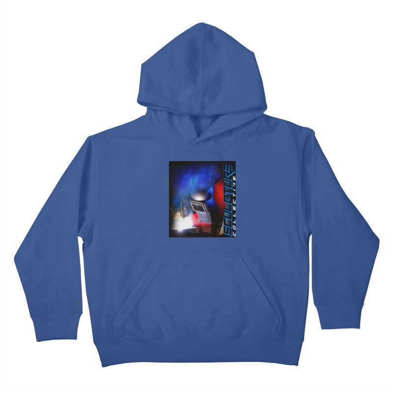 Sculpture Collective Design by C. Gutierrez Kids Pullover Hoody by ChupaCabrales's Shop