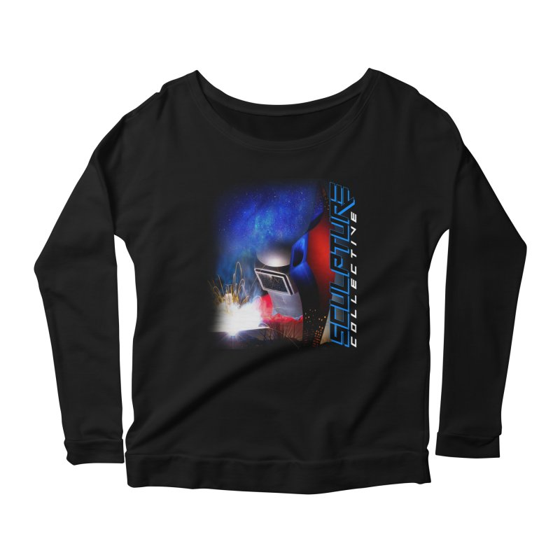 Sculpture Collective Design by C. Gutierrez Women's Longsleeve Scoopneck  by ChupaCabrales's Shop