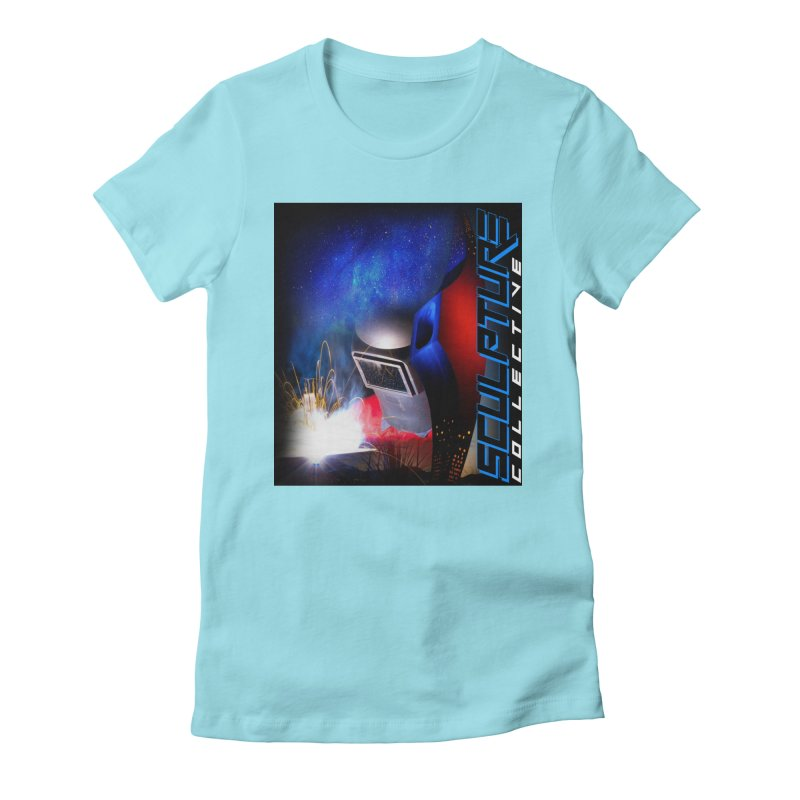 Sculpture Collective Design by C. Gutierrez Women's Fitted T-Shirt by ChupaCabrales's Shop