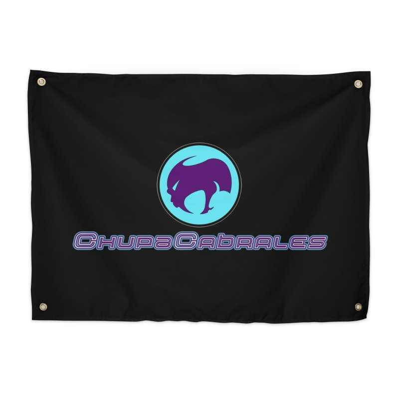 The official seal of the ChupaCabrales Home Tapestry by ChupaCabrales's Shop