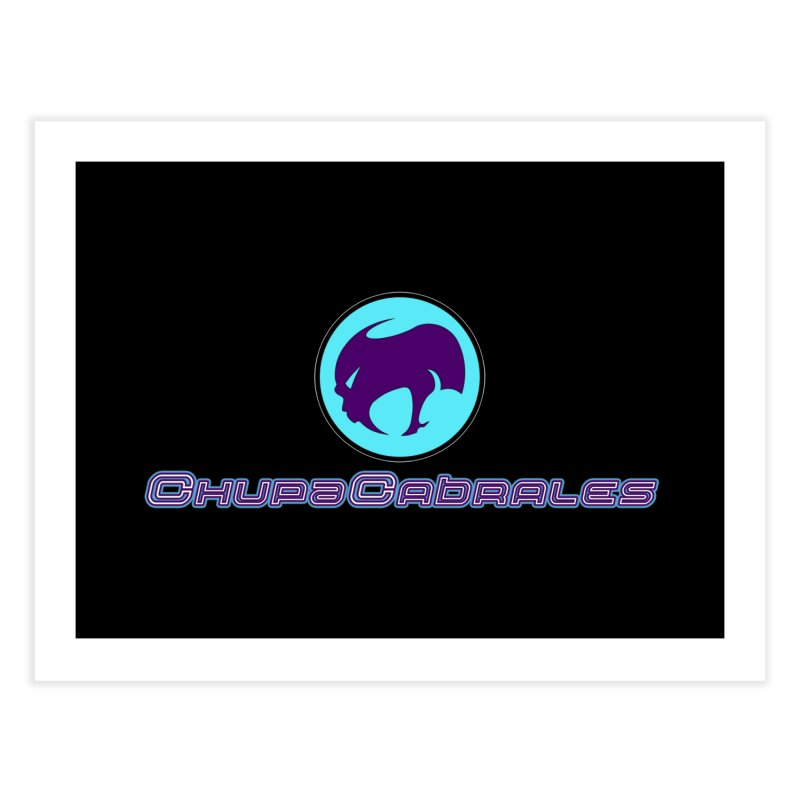 The official seal of the ChupaCabrales Home Fine Art Print by ChupaCabrales's Shop