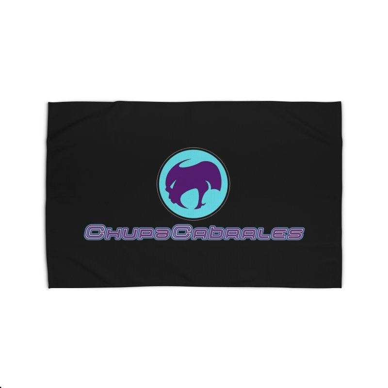 The official seal of the ChupaCabrales Home Rug by ChupaCabrales's Shop