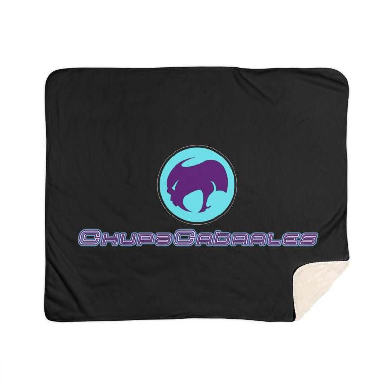 The official seal of the ChupaCabrales Home Sherpa Blanket Blanket by ChupaCabrales's Shop