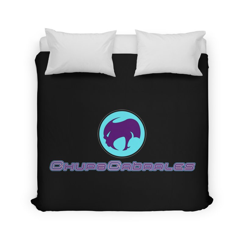 The official seal of the ChupaCabrales Home Duvet by ChupaCabrales's Shop