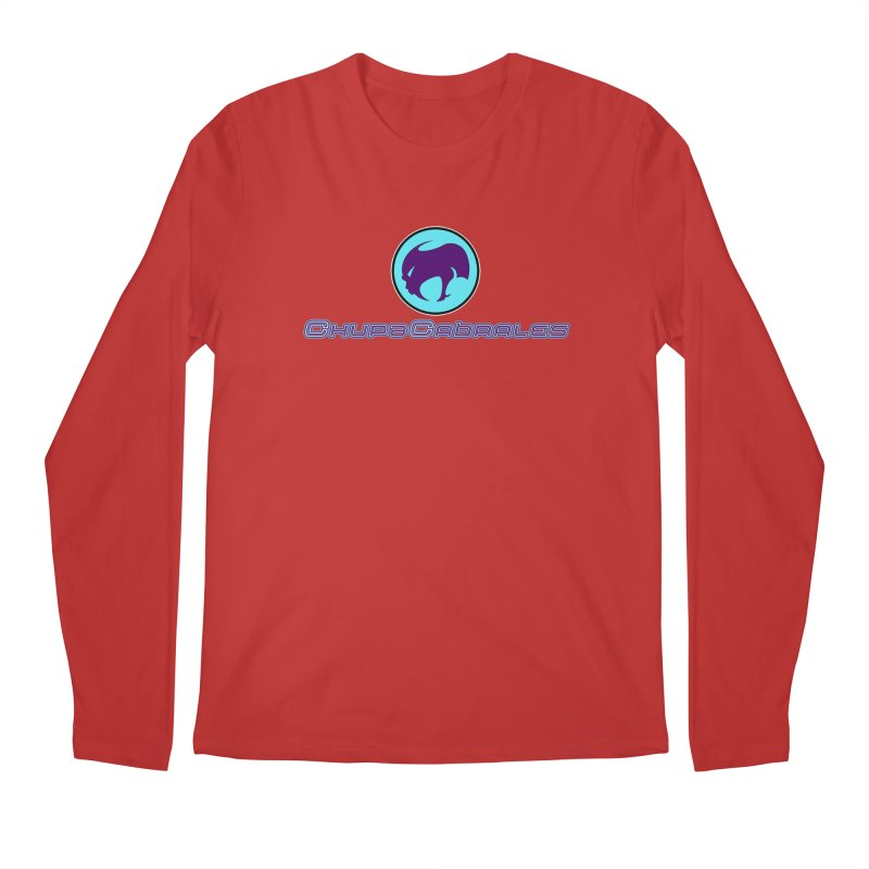 The official seal of the ChupaCabrales Men's Regular Longsleeve T-Shirt by ChupaCabrales's Shop
