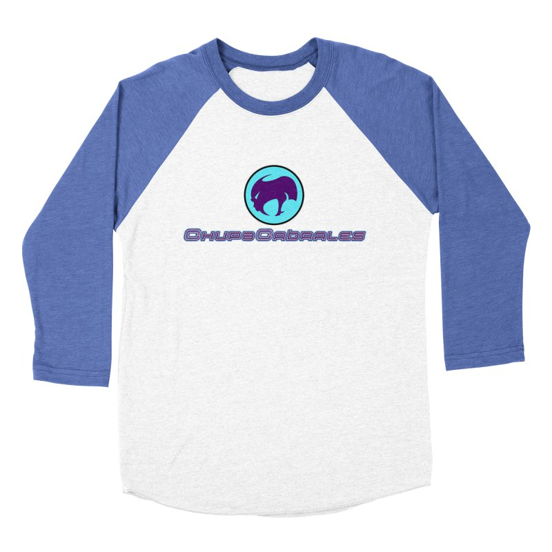 The official seal of the ChupaCabrales Women's Baseball Triblend Longsleeve T-Shirt by ChupaCabrales's Shop