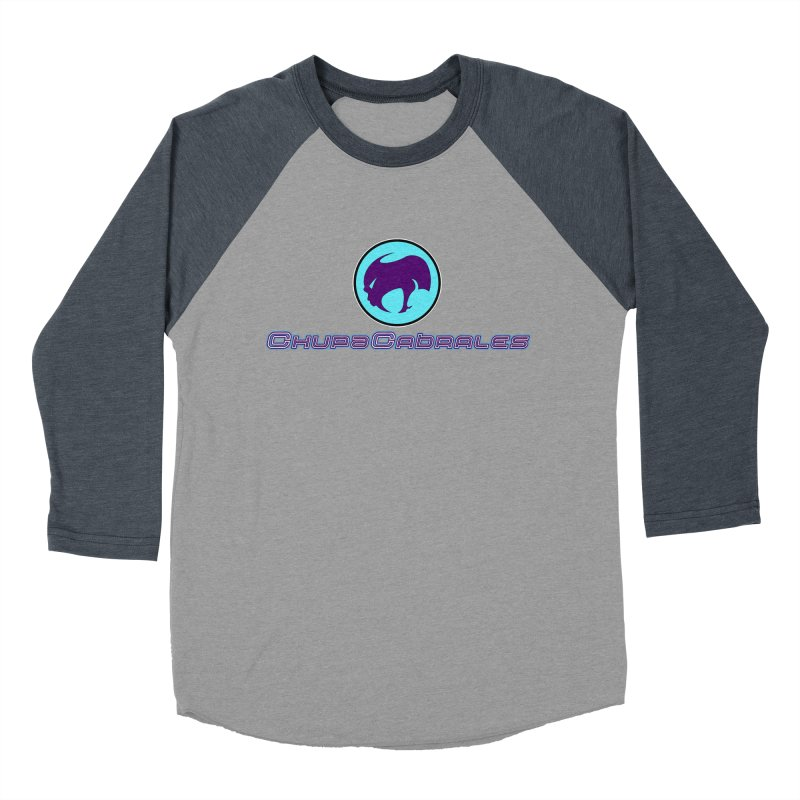 The official seal of the ChupaCabrales Women's Baseball Triblend T-Shirt by ChupaCabrales's Shop