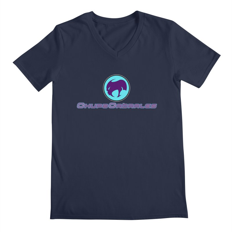 The official seal of the ChupaCabrales Men's Regular V-Neck by ChupaCabrales's Shop