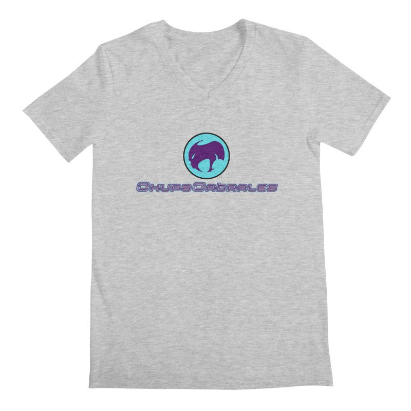 The official seal of the ChupaCabrales Men's V-Neck by ChupaCabrales's Shop