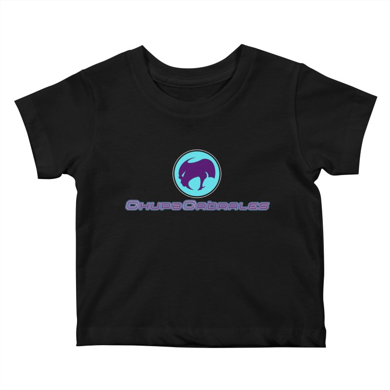 The official seal of the ChupaCabrales Kids Baby T-Shirt by ChupaCabrales's Shop