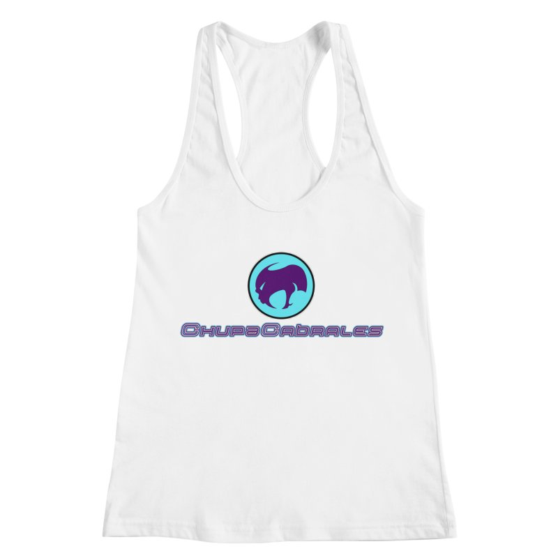 The official seal of the ChupaCabrales Women's Racerback Tank by ChupaCabrales's Shop