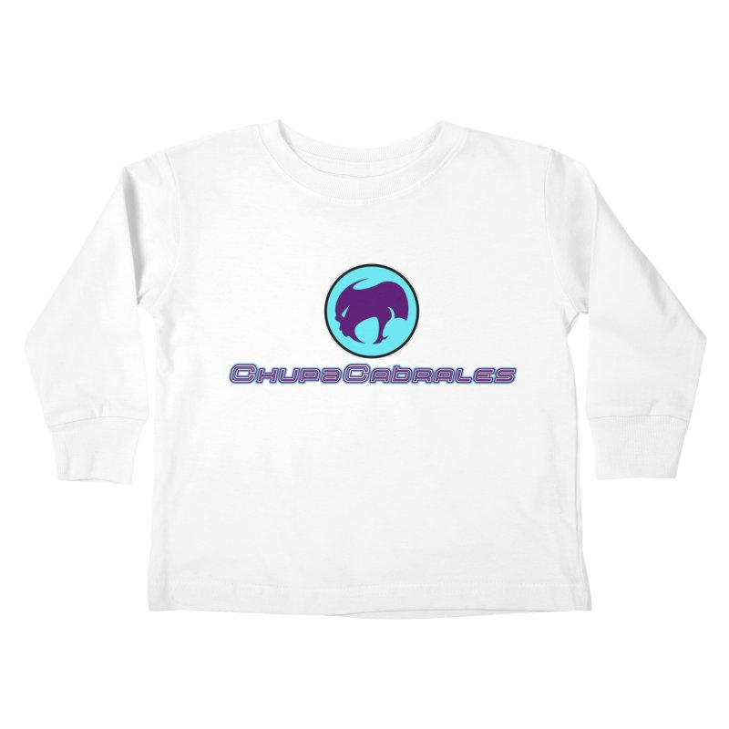 The official seal of the ChupaCabrales Kids Toddler Longsleeve T-Shirt by ChupaCabrales's Shop