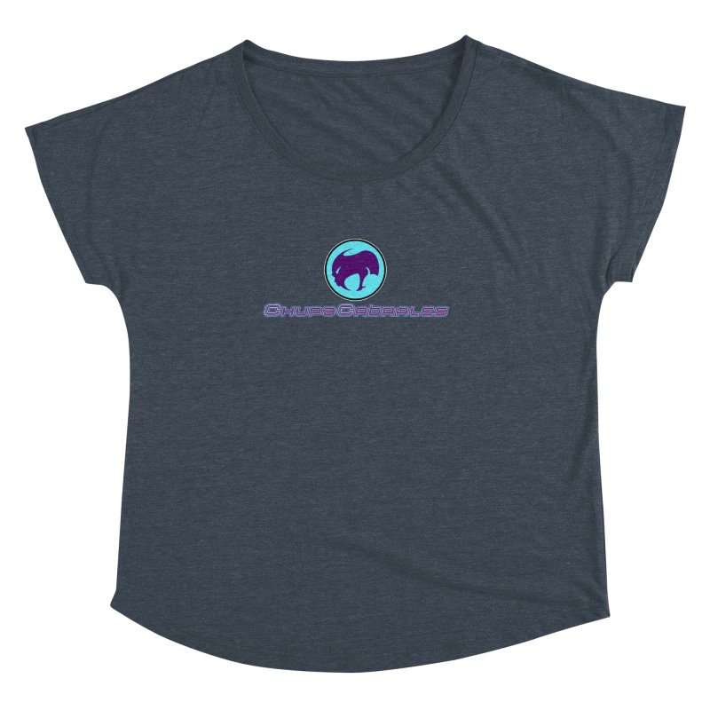 The official seal of the ChupaCabrales Women's Dolman Scoop Neck by ChupaCabrales's Shop