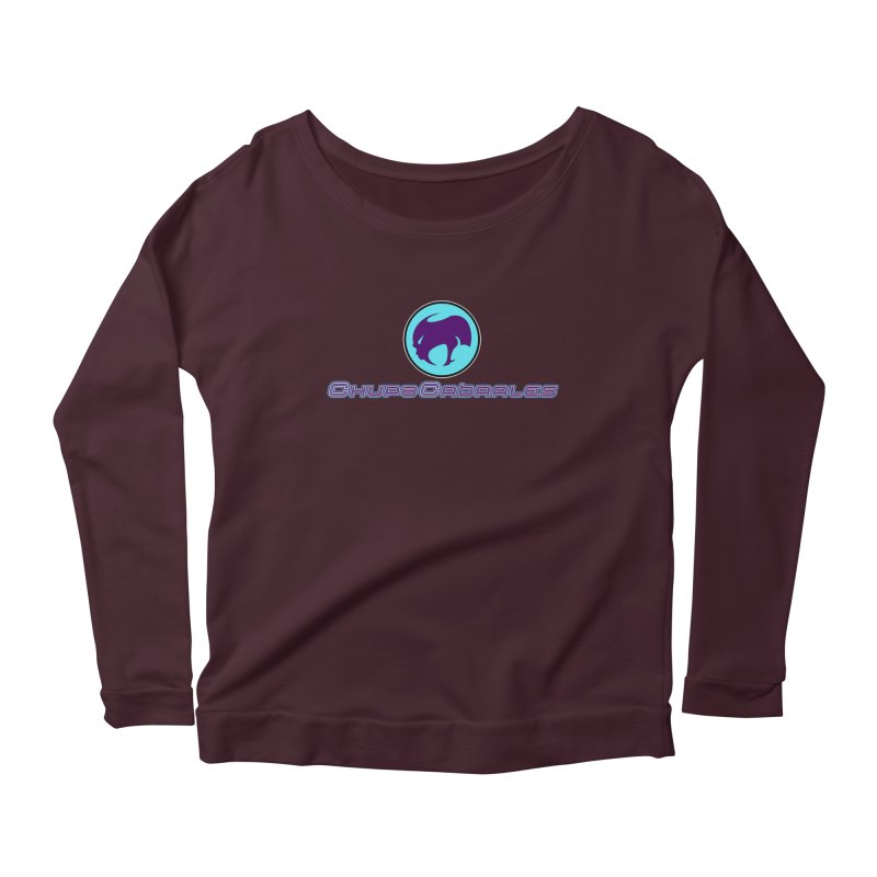 The official seal of the ChupaCabrales Women's Scoop Neck Longsleeve T-Shirt by ChupaCabrales's Shop