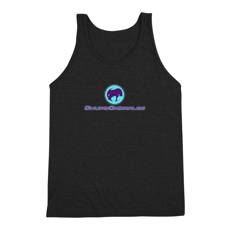 The official seal of the ChupaCabrales Men's Triblend Tank by ChupaCabrales's Shop