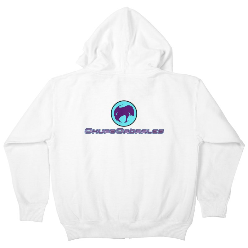 The official seal of the ChupaCabrales Kids Zip-Up Hoody by ChupaCabrales's Shop