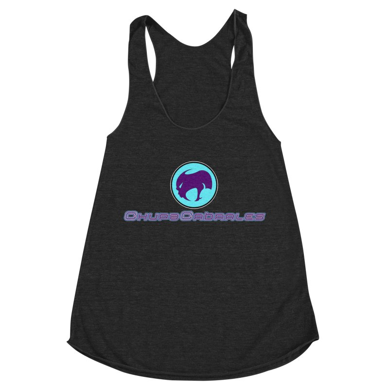 The official seal of the ChupaCabrales Women's Racerback Triblend Tank by ChupaCabrales's Shop