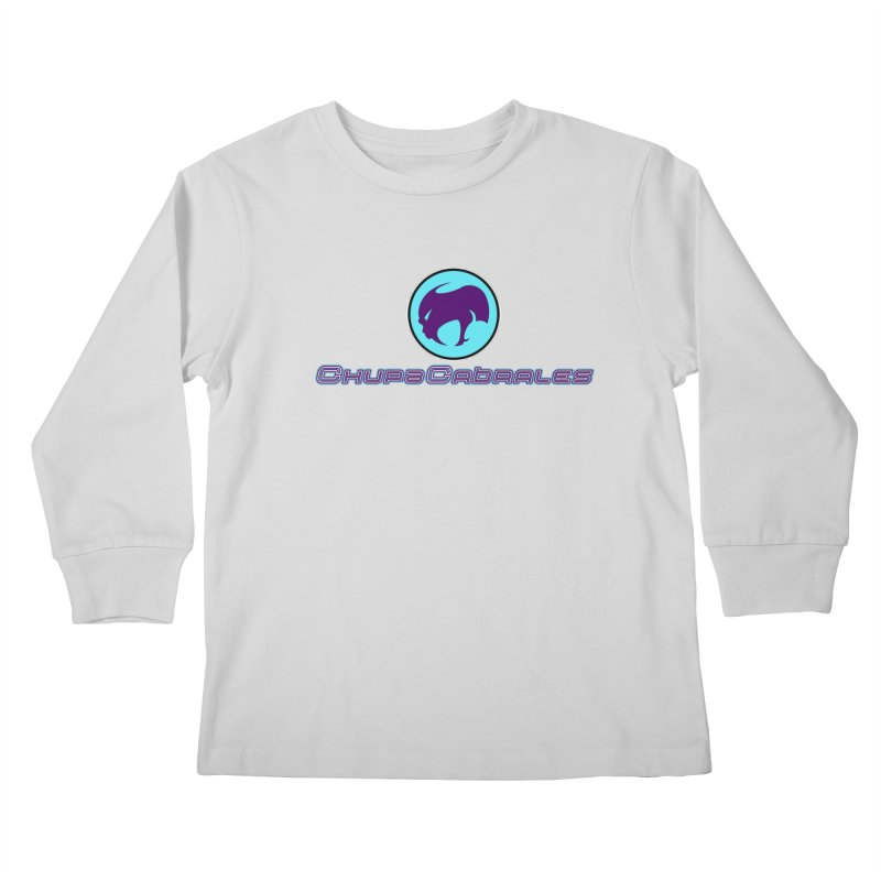 The official seal of the ChupaCabrales Kids Longsleeve T-Shirt by ChupaCabrales's Shop